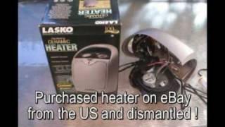 EVRIC - 09 -  EV Conversion - Ceramic Heater