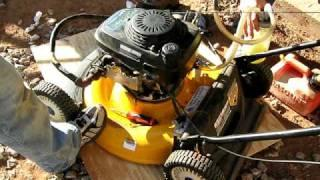 GEET (Paul Pantone) gasoline engine running on diesel