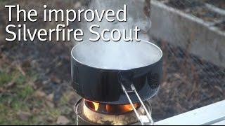 The Improved Silverfire Scout Portable Gasifier Stove