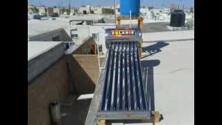 ARMADO DE UN BOILER SOLAR DE TUBOS AL VACIO 2013