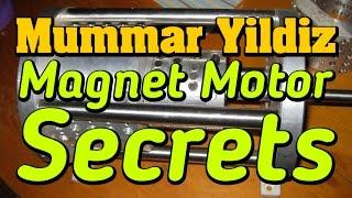 Muammer Yildiz Magnet Motor Secrets - NEWS