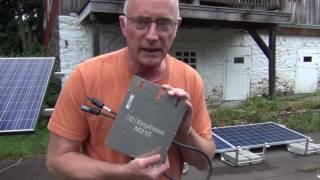 Anapode Solar Tesla Project - MIcroinverters