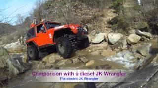 Jeep JK Wrangler Electric Vehicle Conversion Extreme Offroad