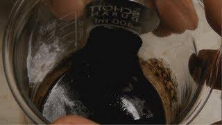 Herstellung eines Ferrofluids (Making a ferrofluid)