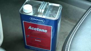 Acetone gasoline saver? Gas saving tips. DIY