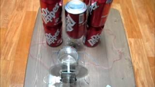Voss machine and Dr.Pepper