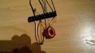 earth battery + joule thief     no hidden battery