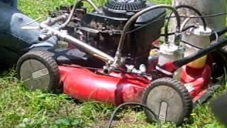 GEET reactor on the lawnmower 4 (rod included)