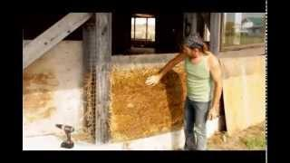 Straw Light Clay - Alternative to Straw Bale Building, Craik, SK