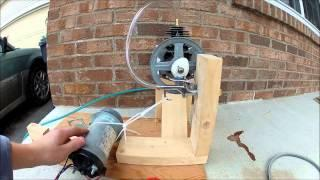 (DIY) Steam Powered Generator part 2