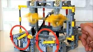 Lego Technic - Continuously Variable Transmission (CVT)