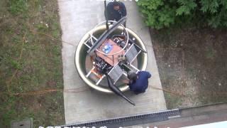 Flying Platform  Micro-VTOL Engine test