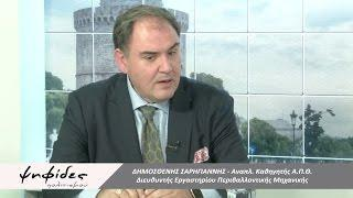 22 Nov. 2016 - EnvE Lab - TV interview - PONTOS TV - Climate change mitigation