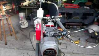 GEET GENERATOR RUNNING  ON OLD OIL