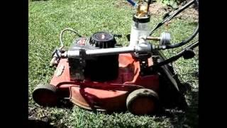 GEET fuel powered Mower Project