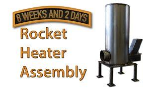 Rocket Stove Heater Parts List and Build Sequence - Part 2