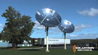 Solar Hot Water System with a Parabolic Concentrator
