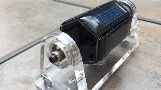 Magnetic Levitating Solar Motor - Free Energy?