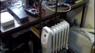 Hydrogen Fuel Cell Co-generation Home Heating Concept Test