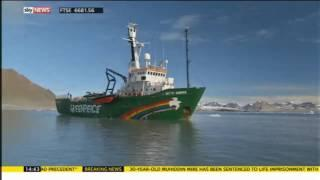 Climate change: melting ice allows fishing trawlers to destroy Arctic wildlife