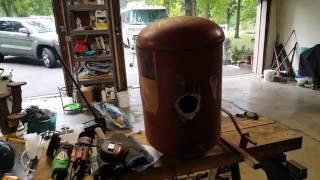 Homemade Backyard Foundry Build Part1