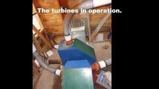 (PART 1 of 2) Micro hydro, home built, low cost, off grid, power system