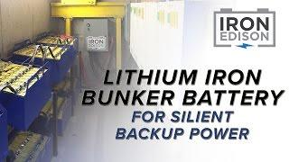 System Spotlight: Bunker Based Lithium Iron Solar Battery