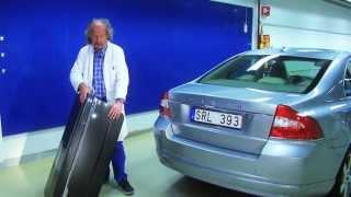 Volvo supercapacitors body panels - S80 prototype