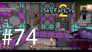 Minecraft Sky Factory 2: Naps auf den Bäumen #74 - 350 Sterling Generators