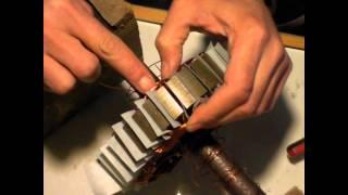 03 12pole 36slots iron serpen 3phase PMA axial flux wind turbine vawt hawt generator energy 103