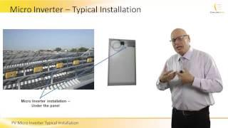 PV Micro Inverter Typical Installation - SixtySec