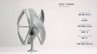 Wind Turbine by Valcrow - Ultimaker: 3D Printing Timelapse