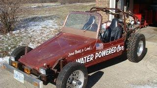 Stan Myers Water Powered Car / 100 Miles Per Water Gallon