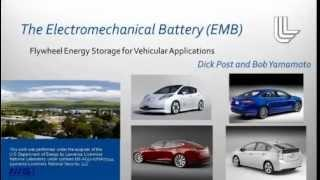 he Electromechanical Battery (EMB): Flywheel Energy Storage for Vehicular Applications
