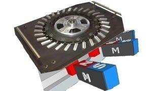 how to generate free energy with magnet motor ( with neodymium magnets )