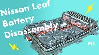 DIY Powerwall Project Pt.1: Nissan Leaf Battery Disassembly! (Case Separation)