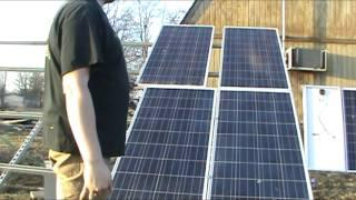 How to Install Solar Panels Using Unistrut