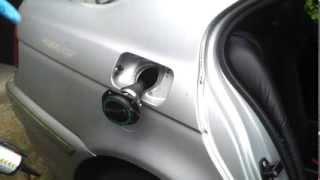 BMW E39 EV Conversion 23 Fuel Port