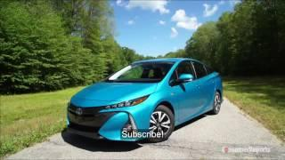 2017 Toyota Prius Prime Review - 2017 Toyota Prius Prime plug-in hybrid review with range