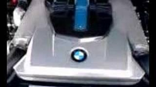 BMW Hydrogen 7 engine clip - Hydrogen Mode