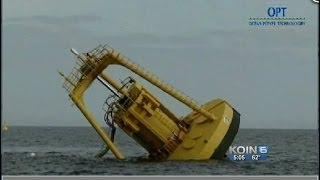 Ocean wave energy project abandoned due to costs
