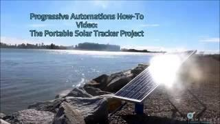 DIY Portable Solar Tracker Project