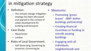 Reexamining the City's Climate Change Mitigation Plan in Multilevel Governance