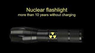 Free energy. DIY Nuclear tritium LED flashlight