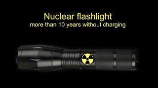 Free energy. DIY Nuclear tritium LED flashlight