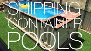 Shipping Container Pools Summer