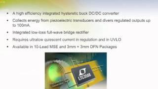 Piezoelectric Energy Harvesting Power Supply