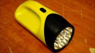 An extremely easy to build SUPER CAPACITOR FLASHLIGHT!
