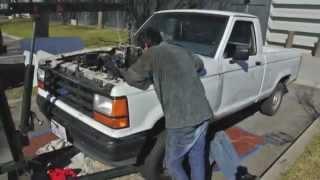 EV Conversion Removing Engine
