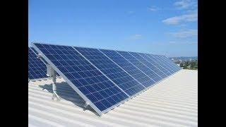 100 KW Rooftop Solar Power Plant : An Initiative towards Green Energy